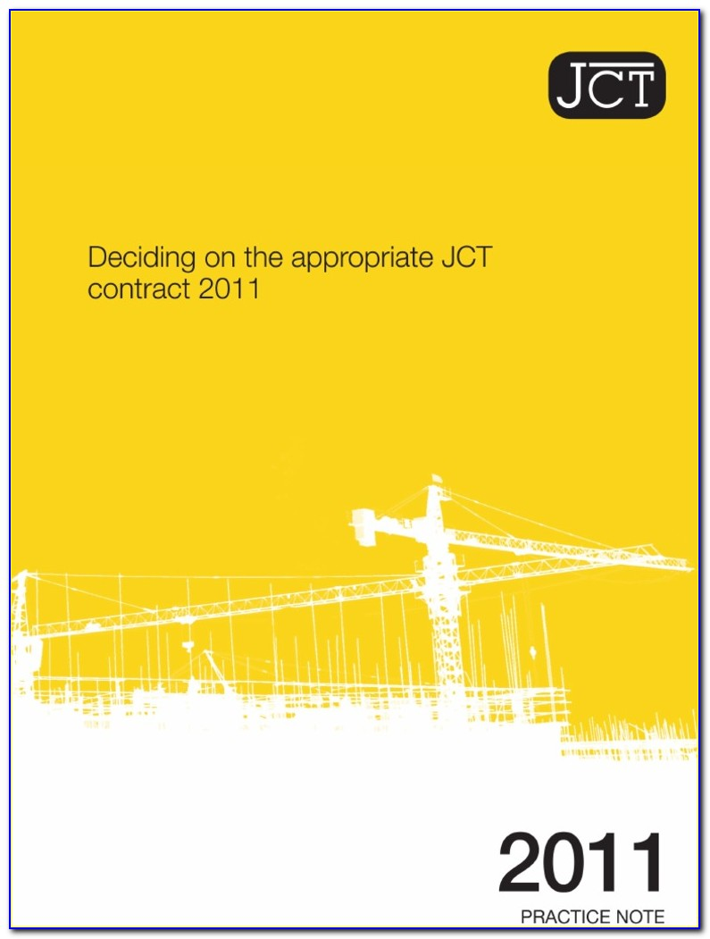 Jct Standard Building Contract With Quantities Pdf