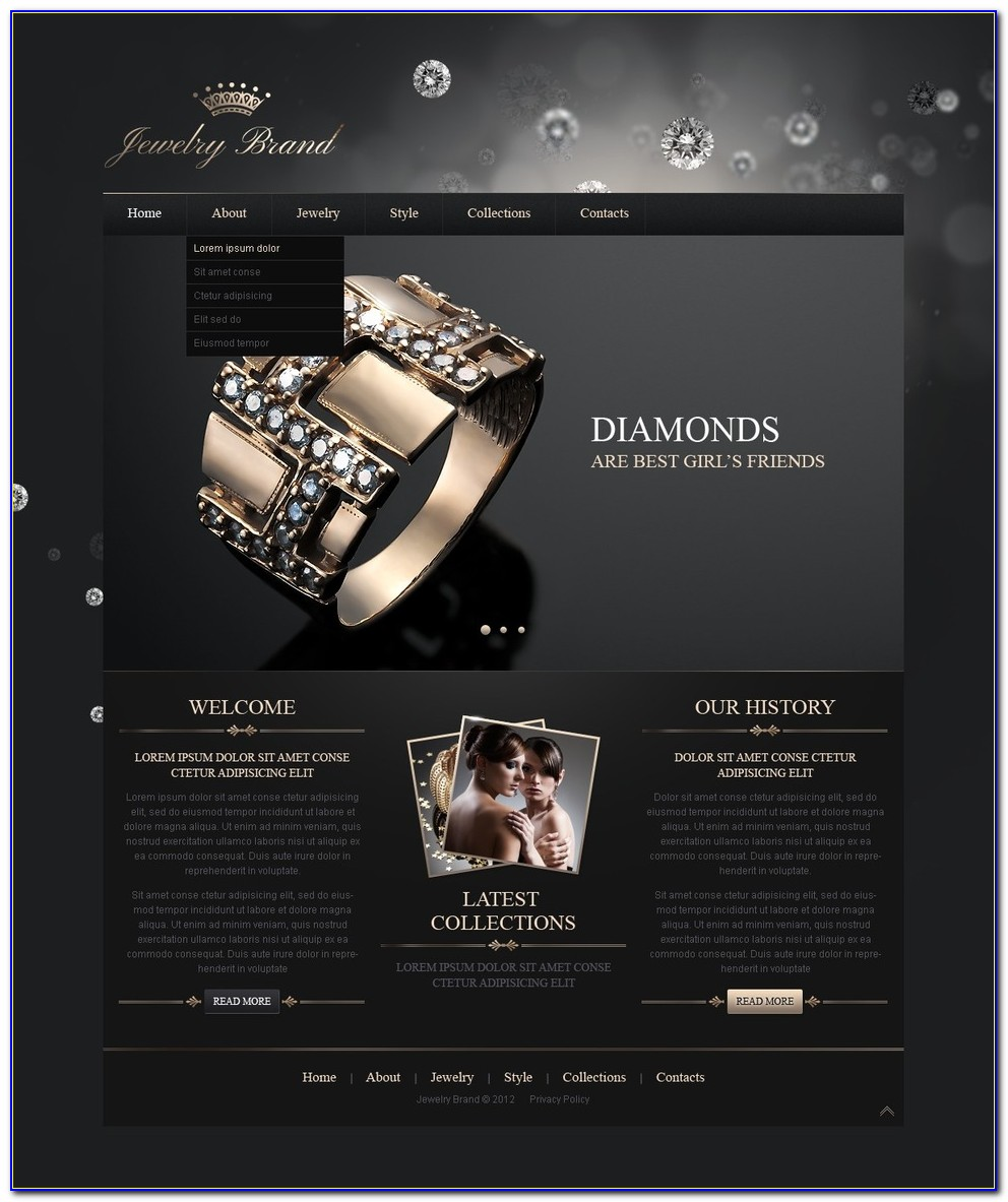 Jewelry Line Sheet Template Download
