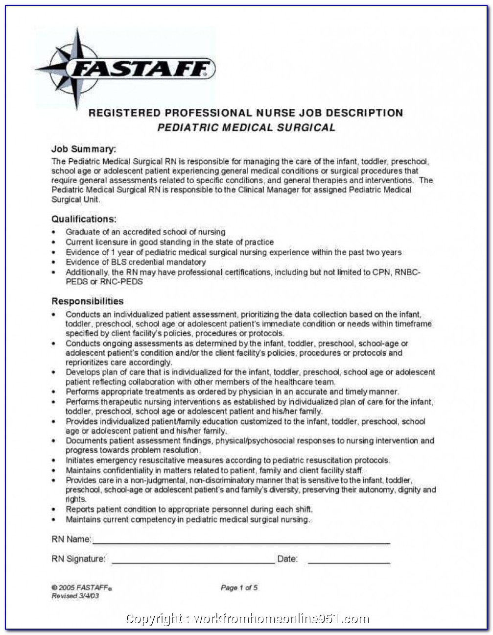 Job Description Template Shrm