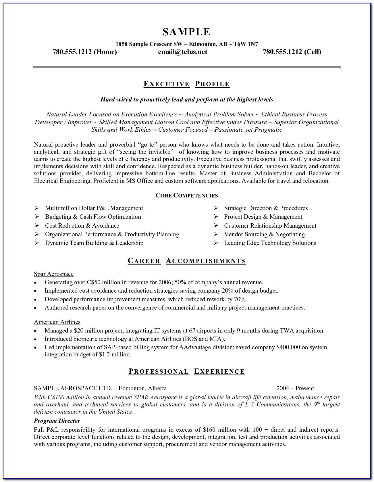 Job Resume Templates Microsoft Word 2010