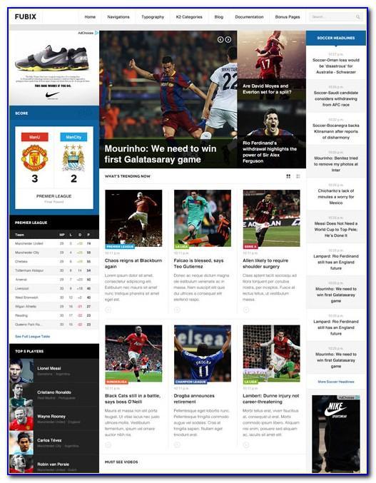Joomla 3 Social Network Template
