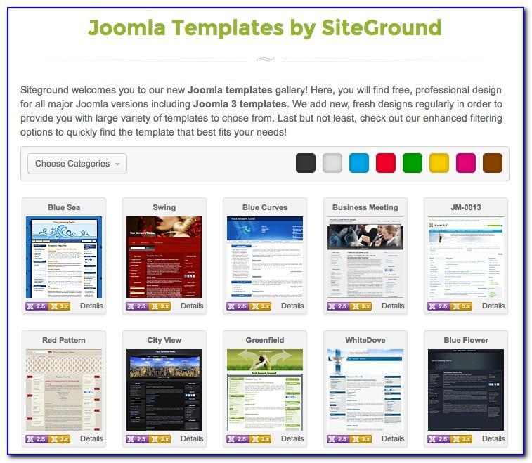 Joomla 3 Sports Template