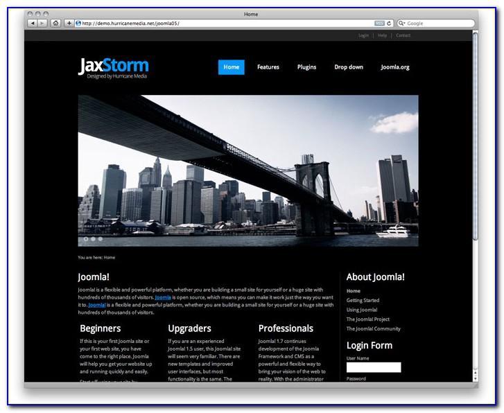 Joomla 30 Intranet Template
