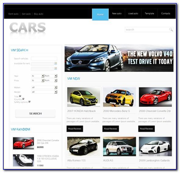 Joomla Auto Classifieds Template