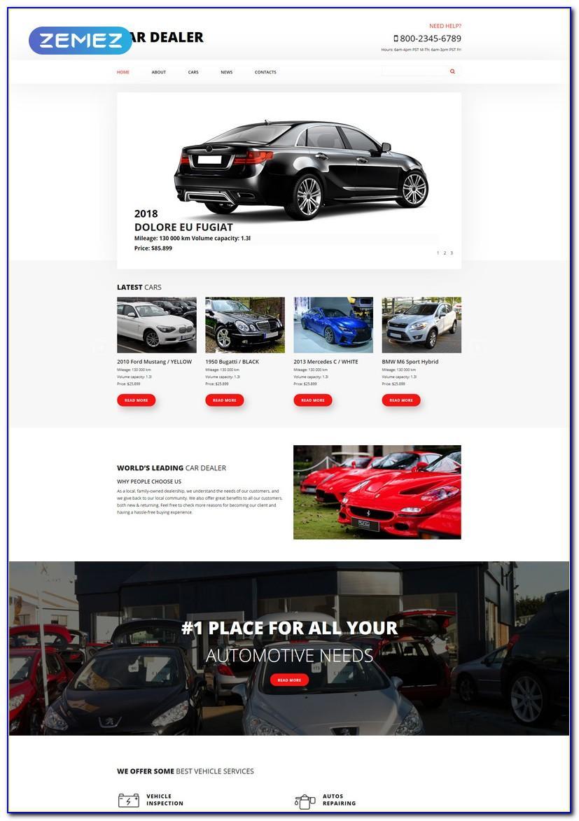 Joomla Car Selling Template