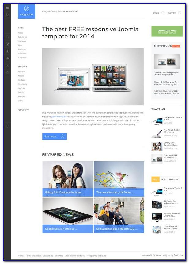 Joomla Template Free Download 3.0