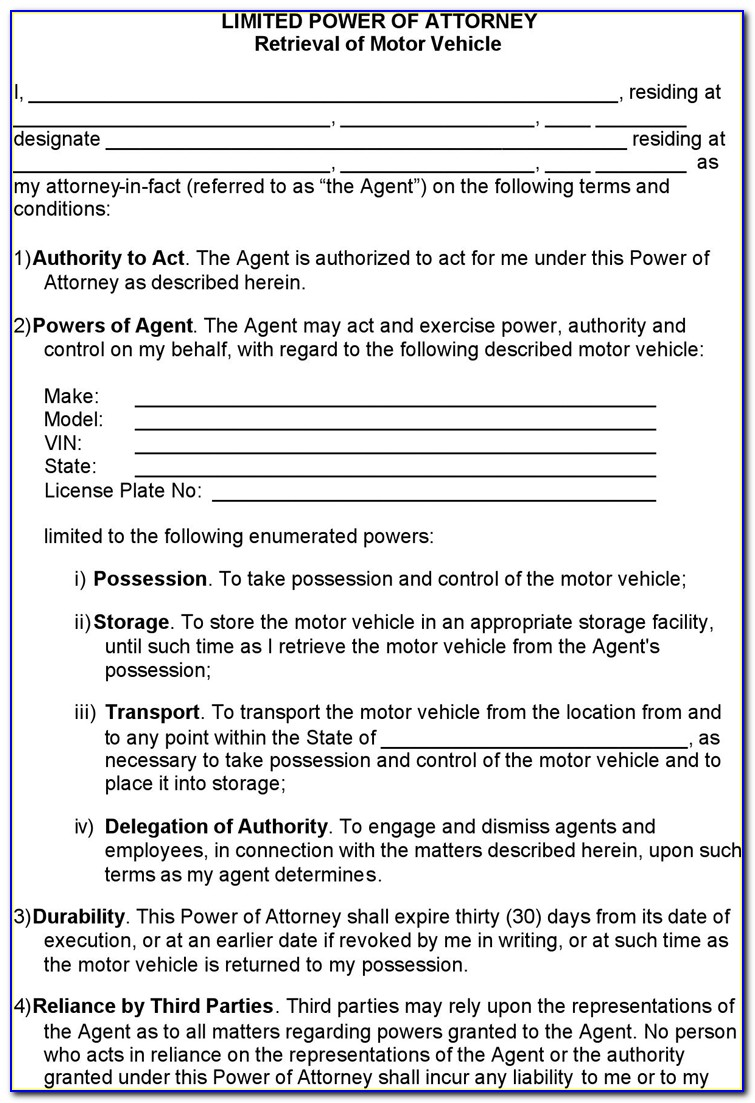 Ohio Health Care Power Of Attorney Forms