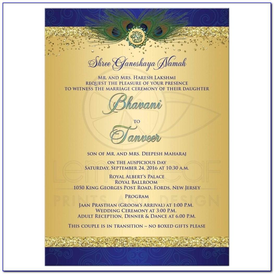 Online Hindu Wedding Invitation Maker Free