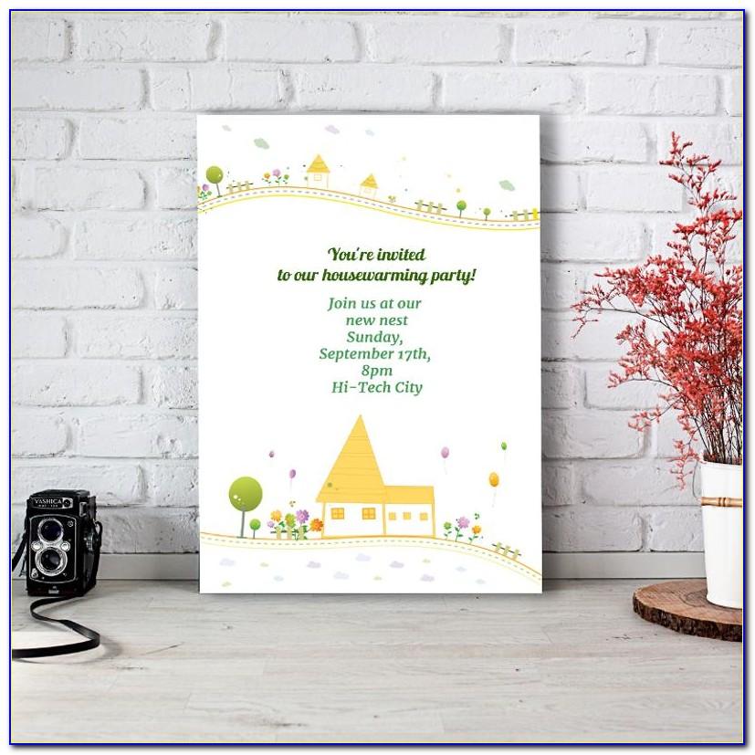Online Housewarming Invitation Maker Free