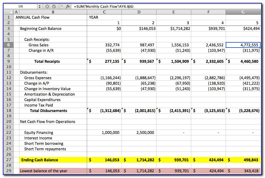 Personal Income Statement And Balance Sheet Template