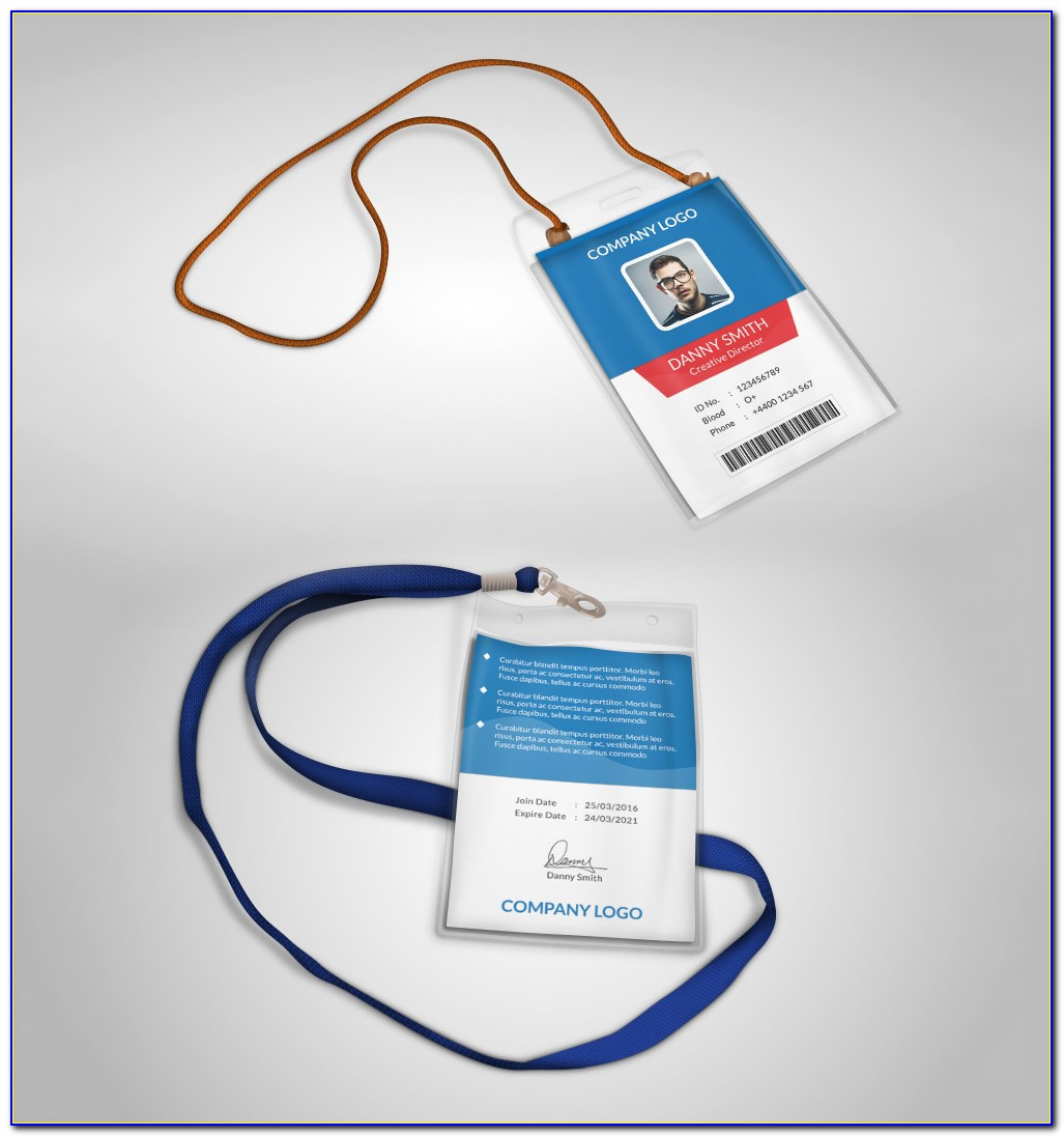 Photo Id Badge Template Microsoft Word
