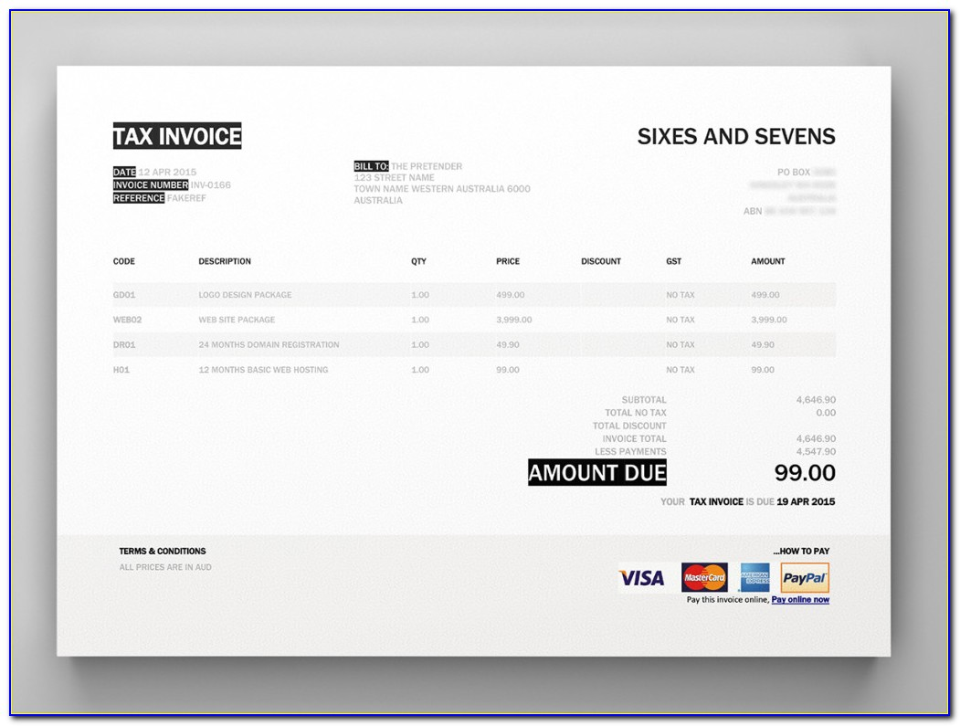 Receipt Template Download Free