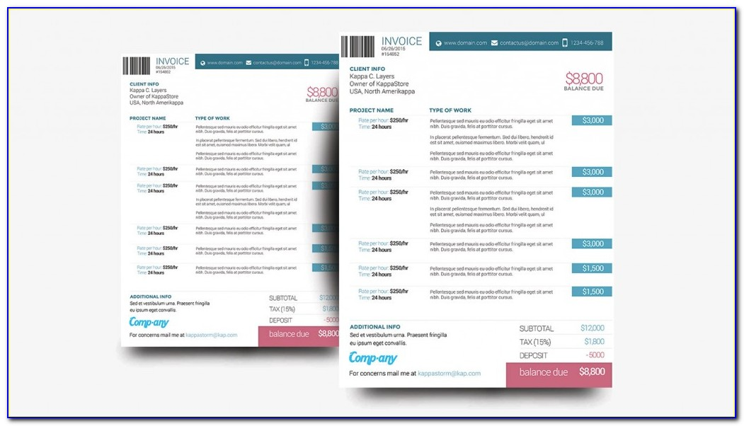 Receipt Template Excel Download