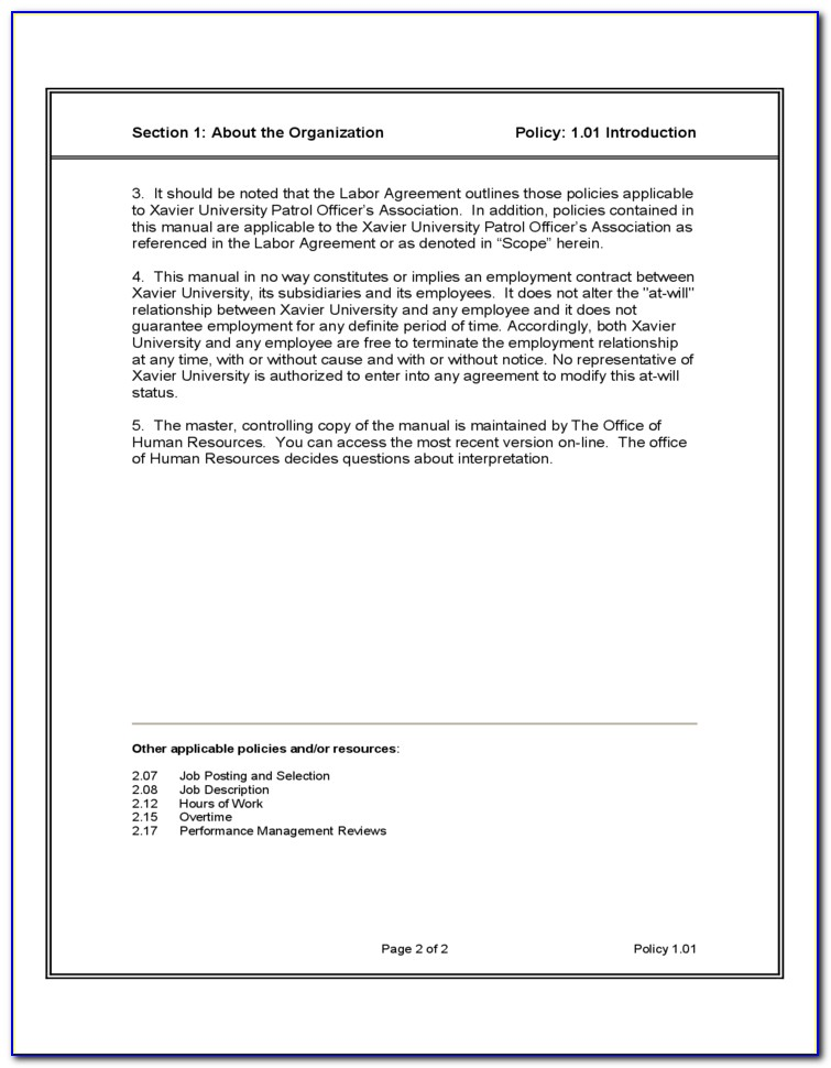 Recruitment Service Level Agreement Sample