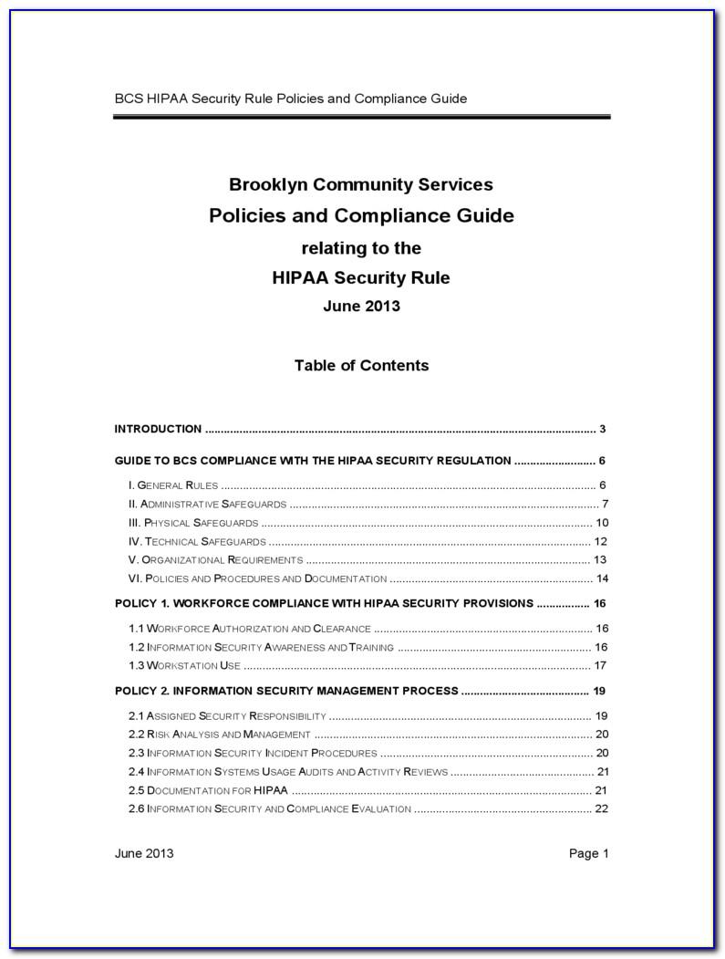 Sample Hipaa Confidentiality Agreement Form