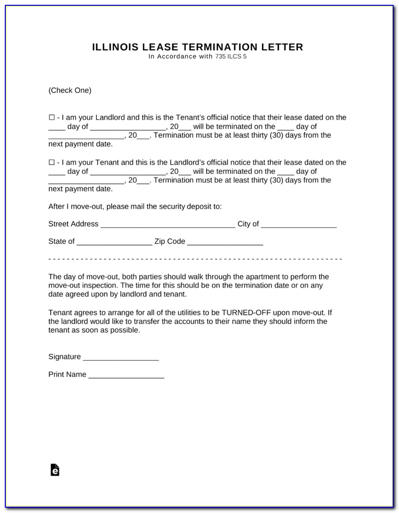 State Of Illinois Eviction Notice Form
