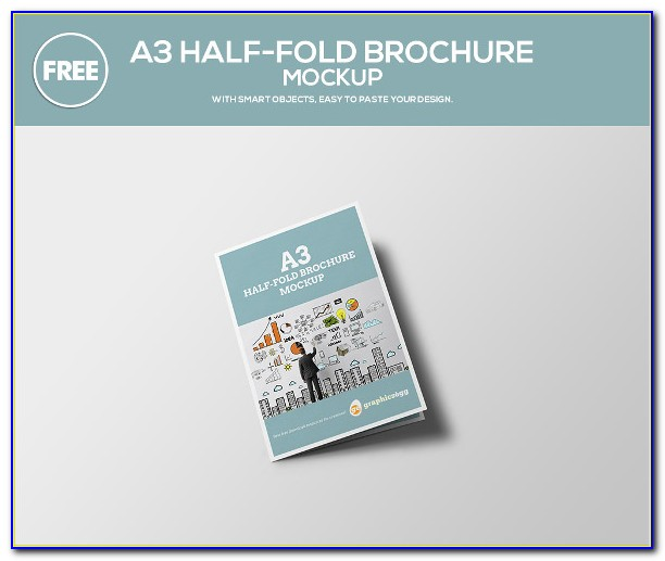 11x17 Half Fold Brochure Template Indesign