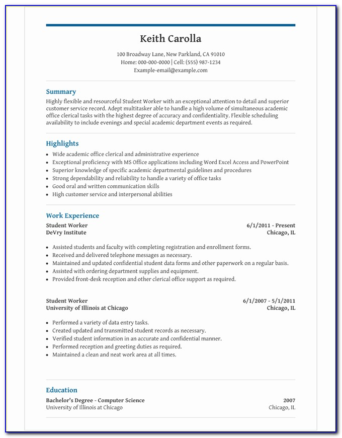 Adobe Indesign Resume Template Free Download