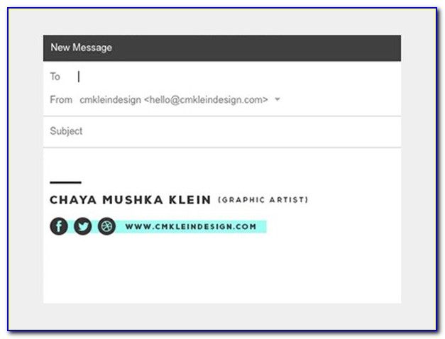 Best Business Email Signature Designs