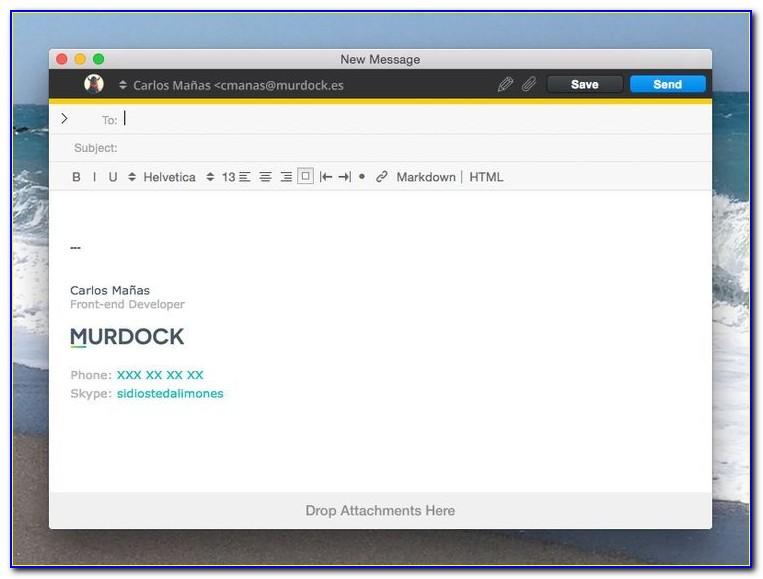 Best Email Signature Format