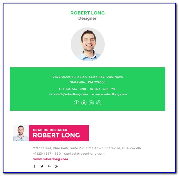 Best Email Signature Templates Free