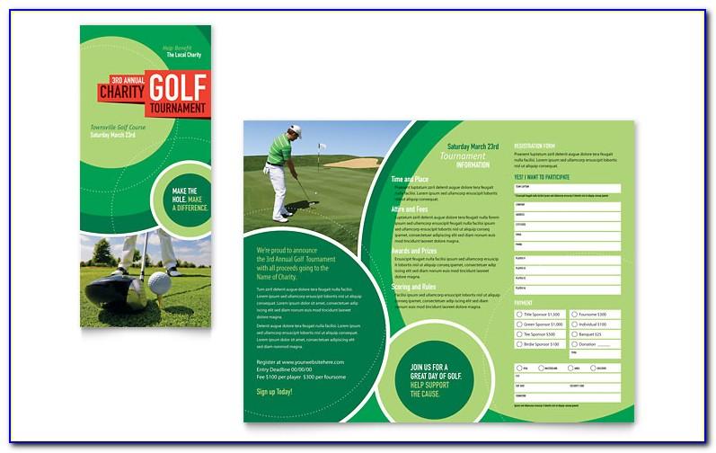 Blank Tri Fold Brochure Template Powerpoint