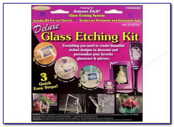 Custom Glass Etching Stencils Reusable