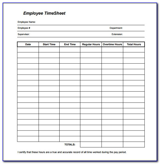 Free Bi Weekly Employee Schedule Template
