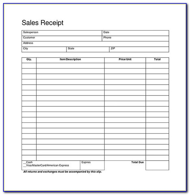 Free Blank Invoice Templates Microsoft Word