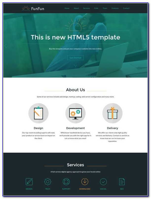 Free Business Website Templates Dreamweaver