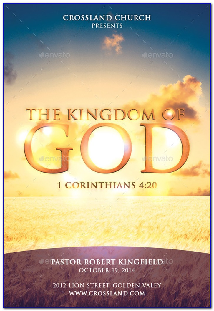 Free Christian Flyer Template