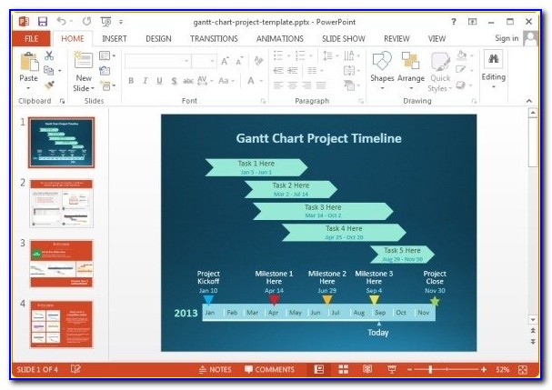 Free Download Gantt Chart Template For Excel 2007