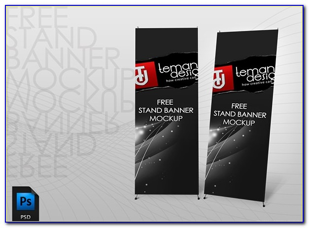 Free Download Template X Banner Photoshop