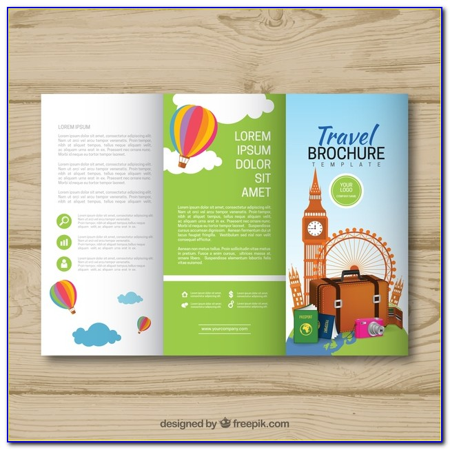 Free Download Travel Brochure Templates