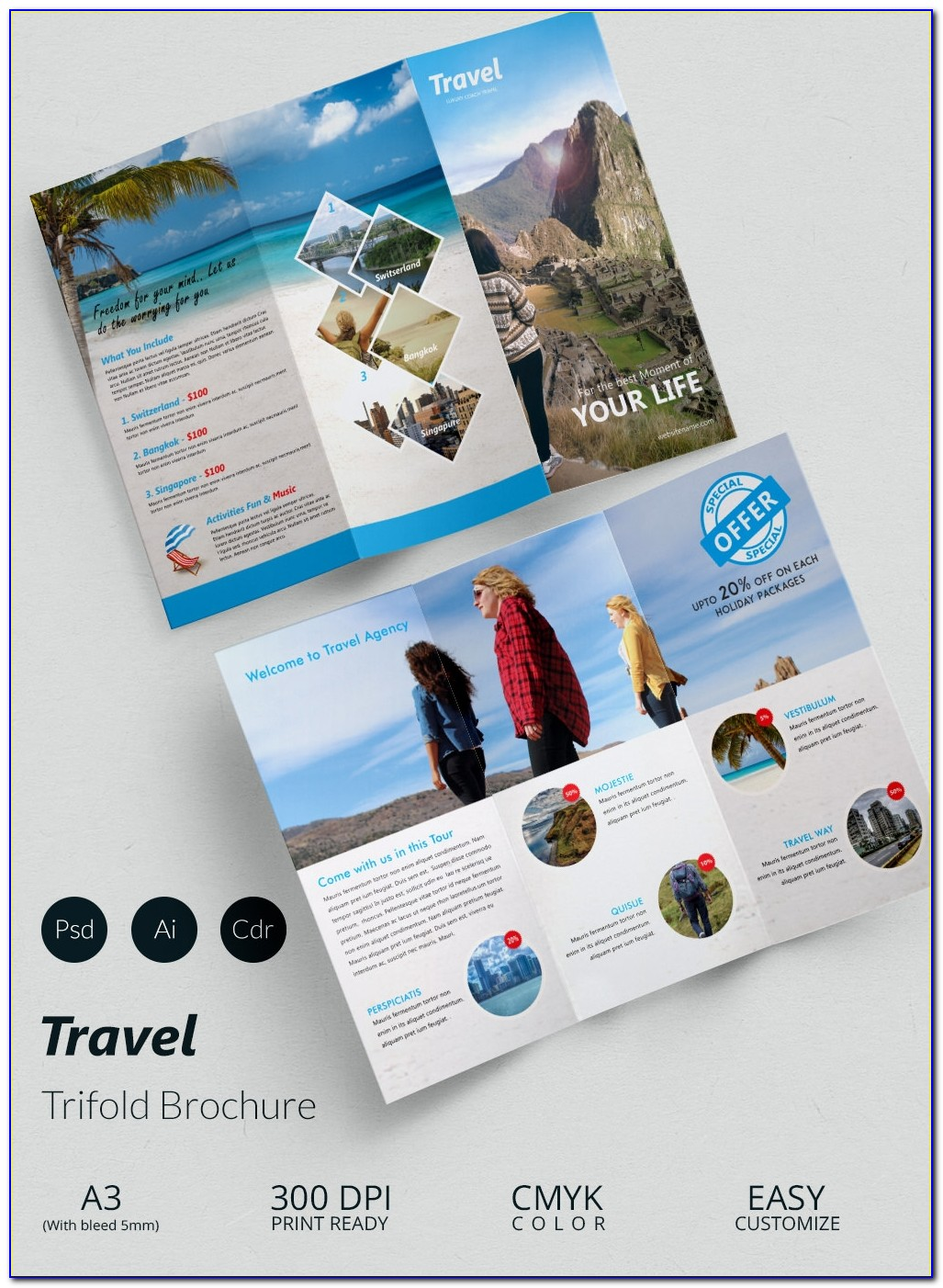 Free Download Travel Flyer Templates