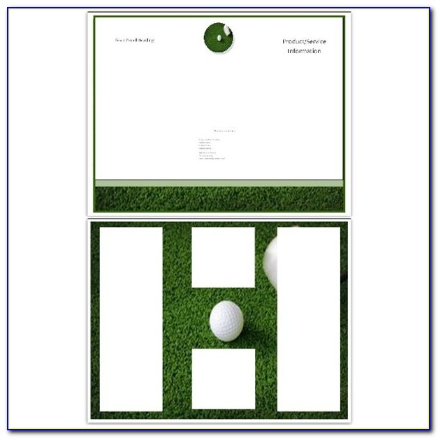 Free Golf Tournament Flyer Template Powerpoint