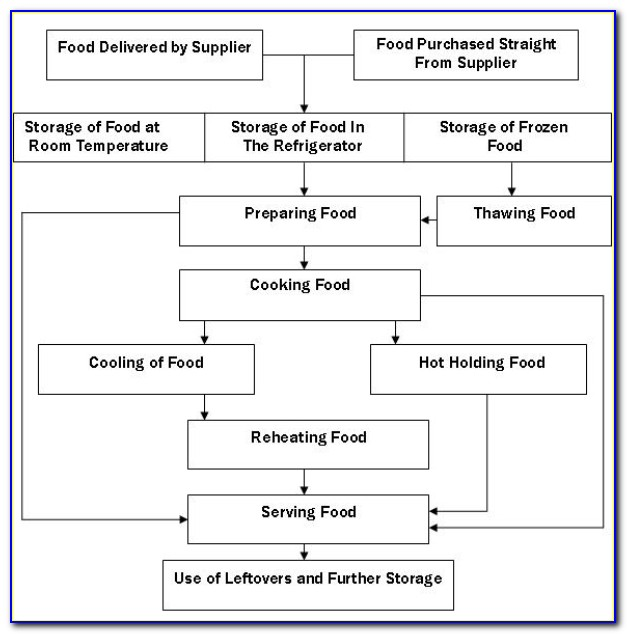 Free Haccp Flow Chart Template