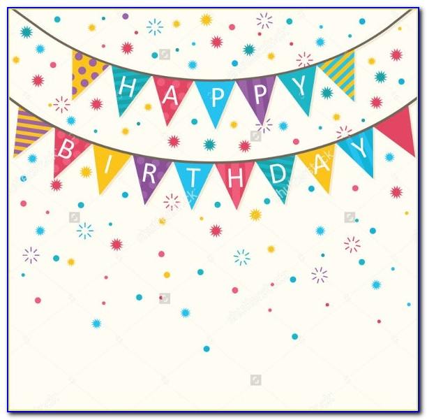 Free Happy Birthday Banner Templates