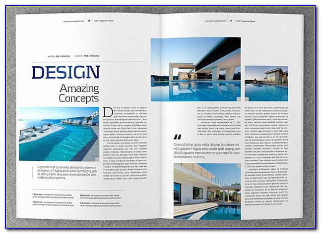 Free Magazine Article Layout Templates For Word