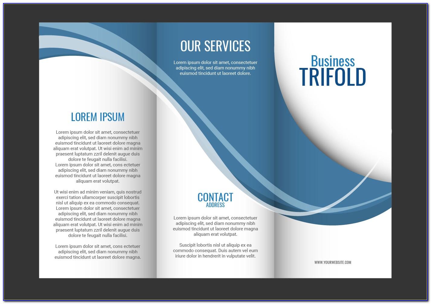 Free Medical Tri Fold Brochure Templates