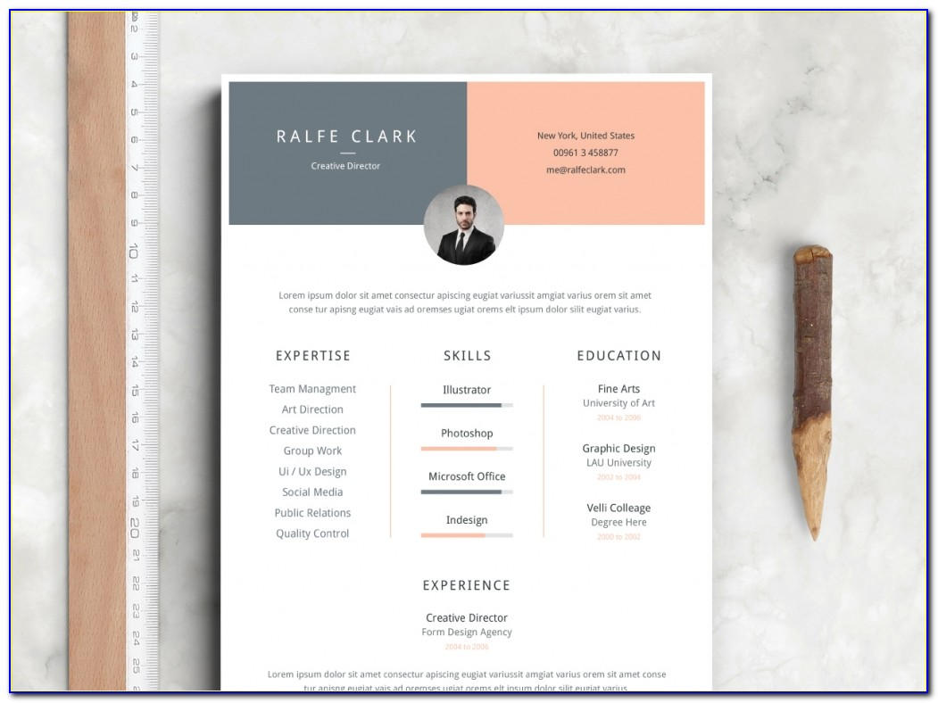 Free Modern Resume Templates Docx