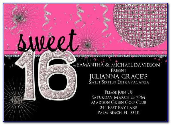 Free Online Sweet 16 Invitation Maker