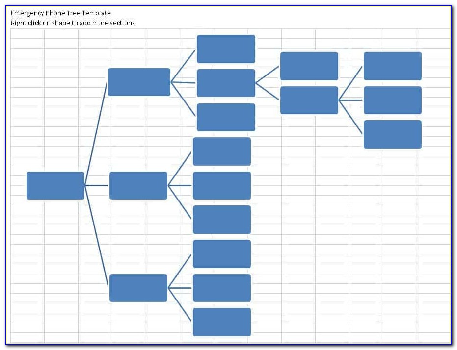 Free Phone Tree Template Excel