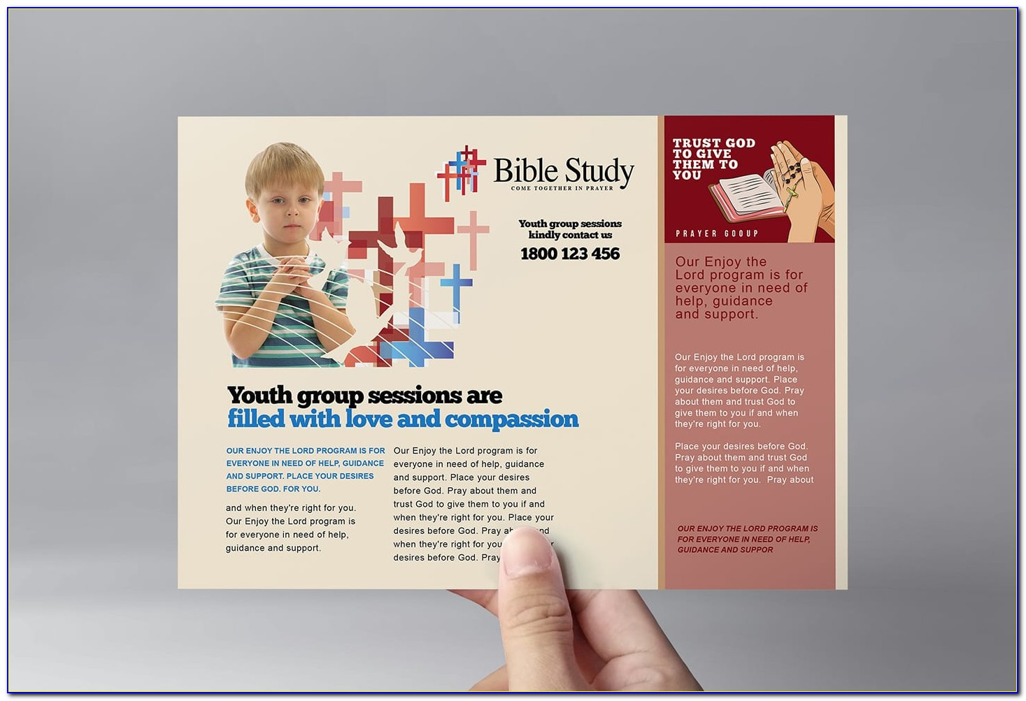 Free Printable Christian Flyer Templates