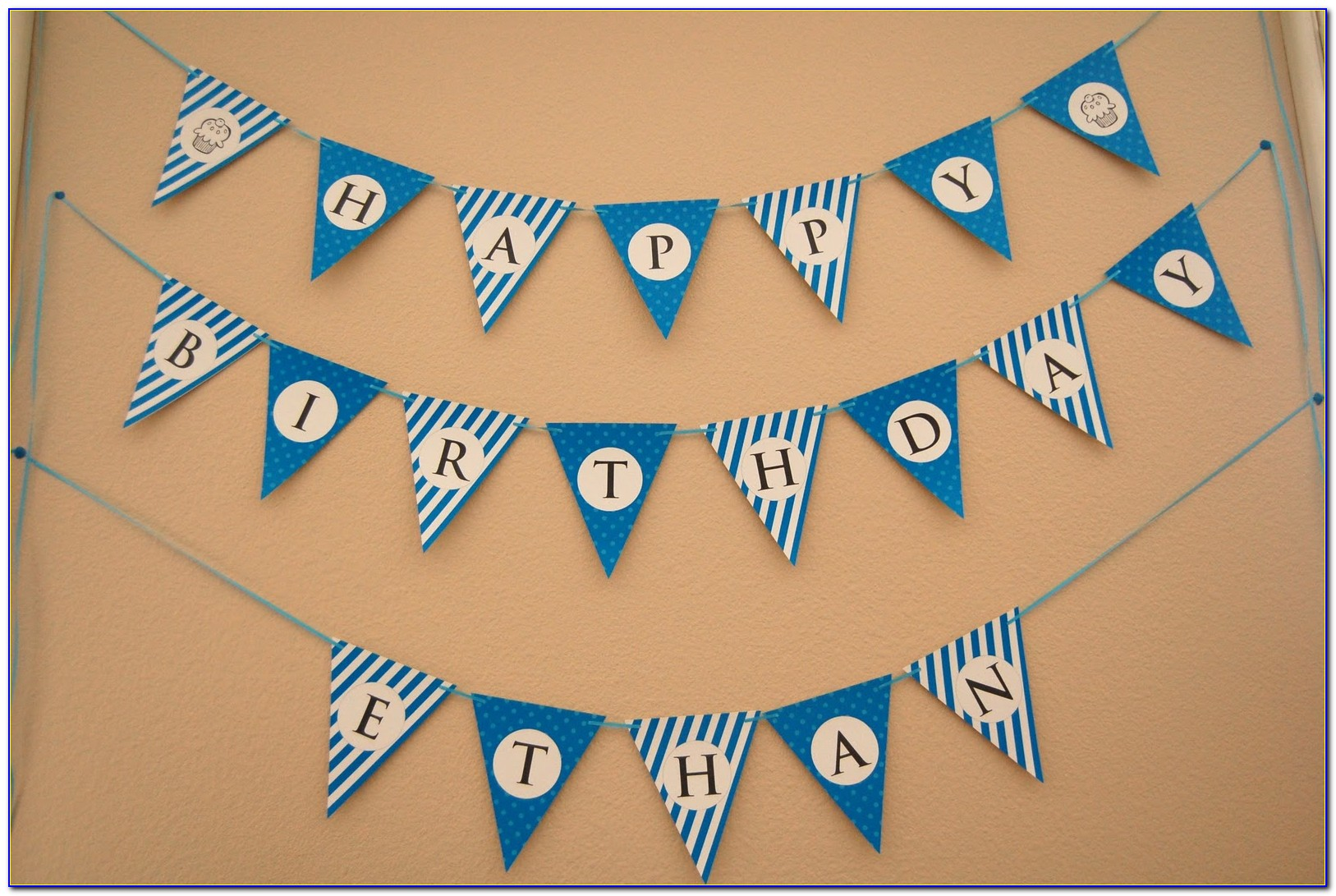 Free Printable Frozen Happy Birthday Banner Templates