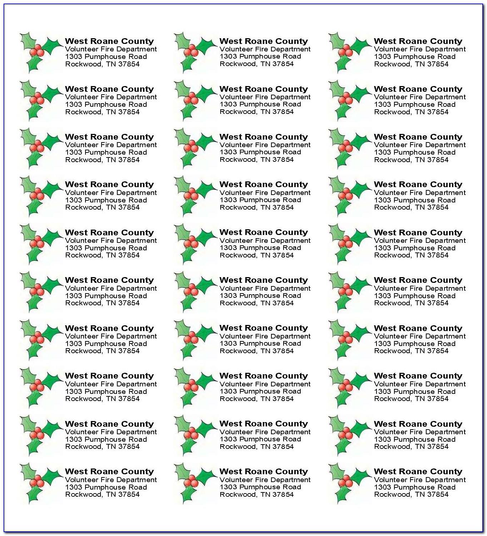 Free Printable Return Address Label Templates
