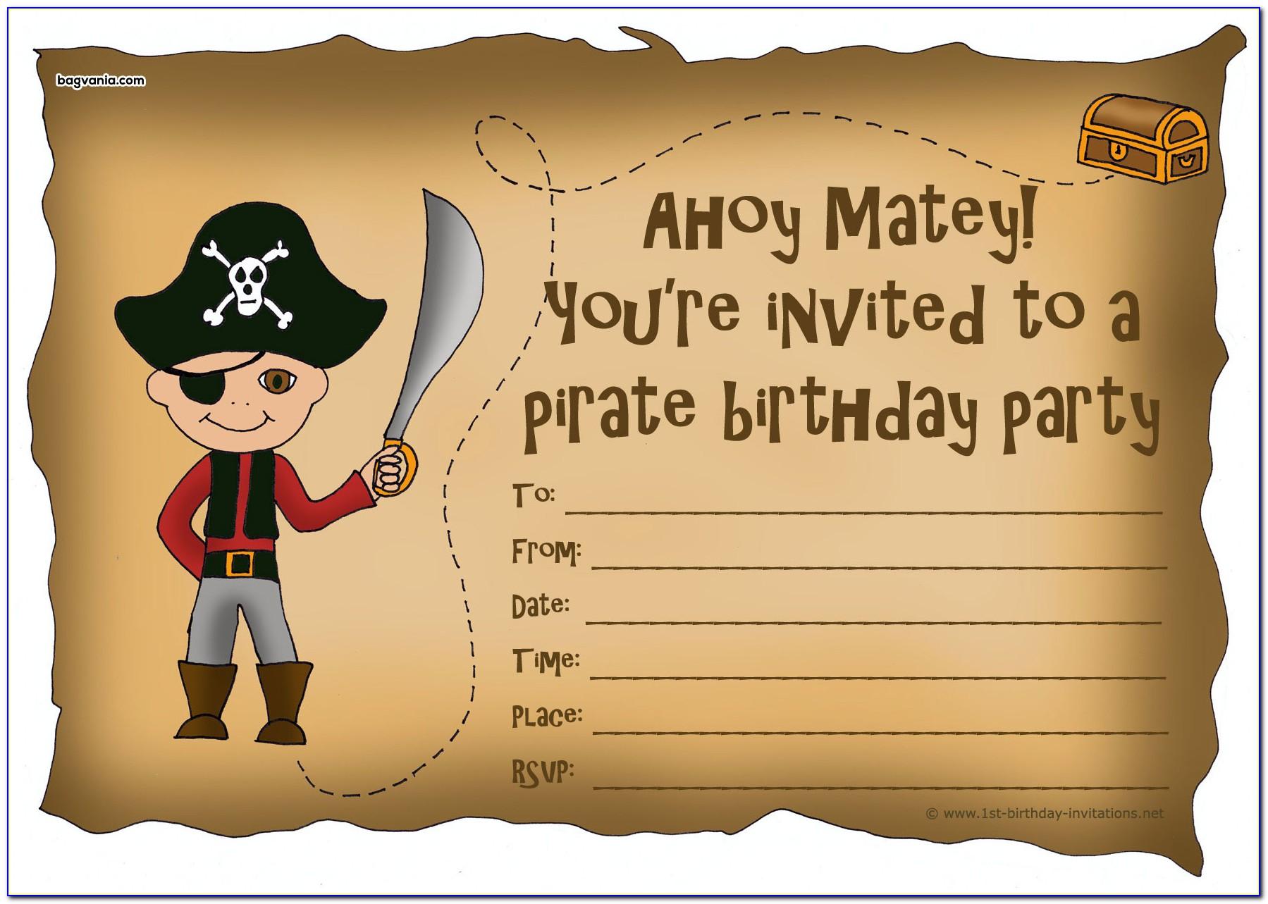 Free Psd Template Birthday Invitation