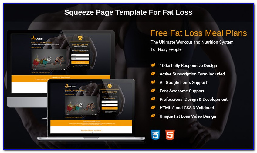 Free Responsive Squeeze Page Templates