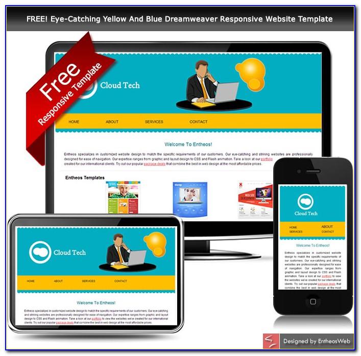 Free Responsive Website Templates Dreamweaver
