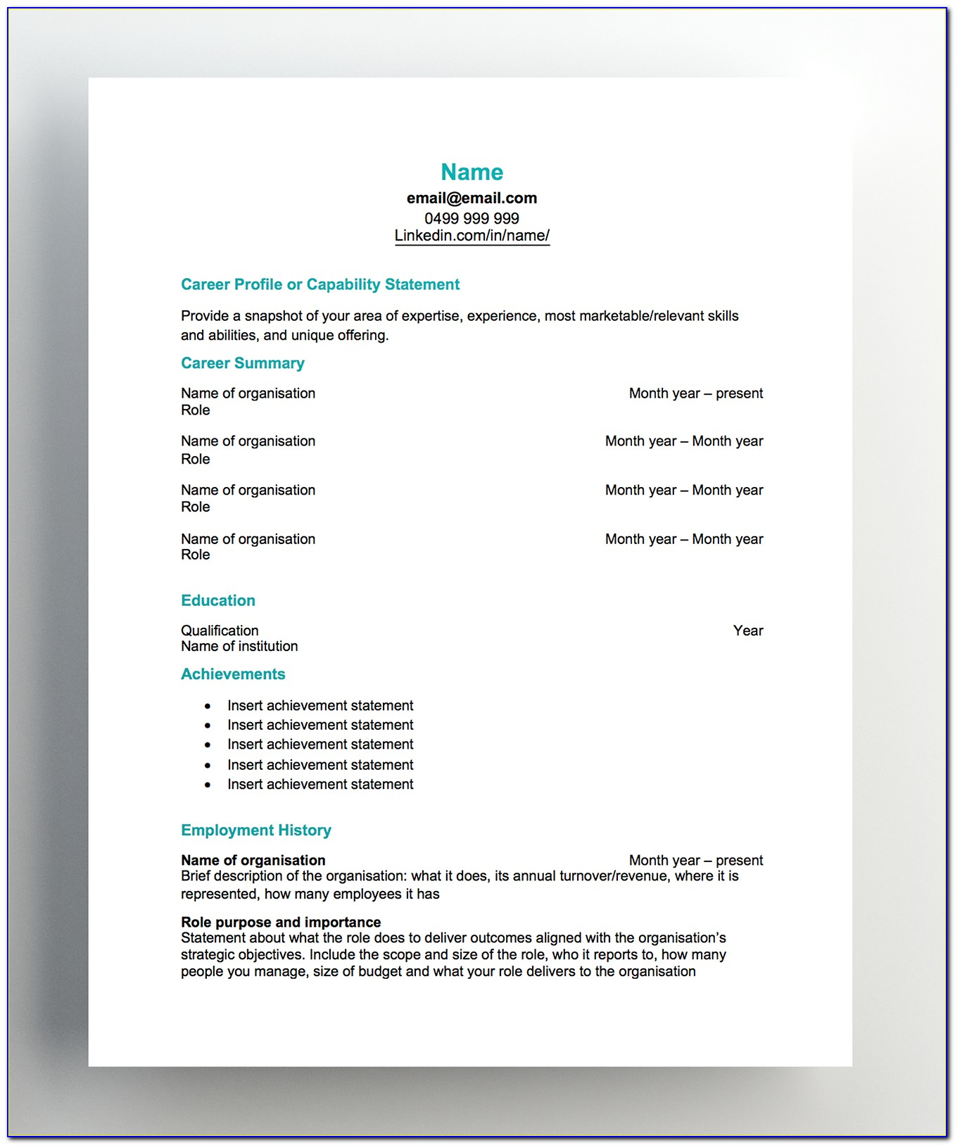 Free Resume Samples For Registered Nurses